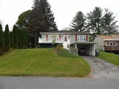 Canajoharie Single Family Home For Sale: 156 Montgomery St