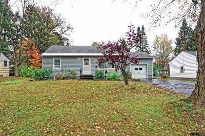 East Greenbush Single Family Home For Sale: 5 Adams Av