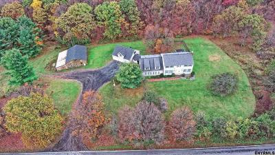 Voorheesville Single Family Home For Sale: 439 Stove Pipe Rd