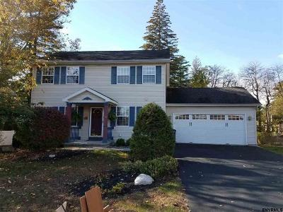 Saratoga Springs Single Family Home For Sale: 20 Vanderbilt Av