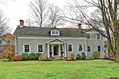 Rensselaer County Single Family Home For Sale: 3 Carriage Dr