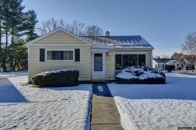 Albany Single Family Home For Sale: 8 Edward Ter