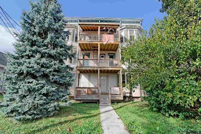Schenectady Multi Family Home For Sale: 1589 Van Vranken Av
