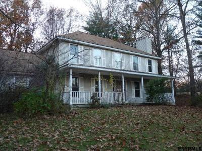 Saratoga County Single Family Home For Sale: 3299 Shaw Hill Rd