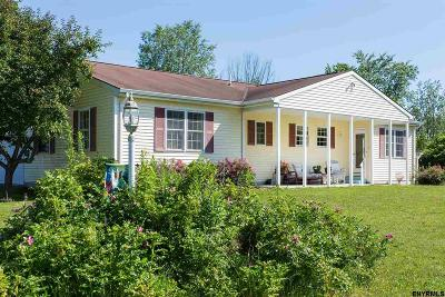 Saratoga County Single Family Home For Sale: 144 Haas Rd