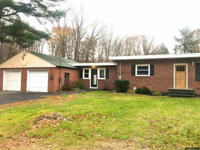 Clifton Park Single Family Home For Sale: 315 Vischer Ferry Rd
