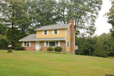 Columbia County Single Family Home For Sale: 86 Skyline Rd
