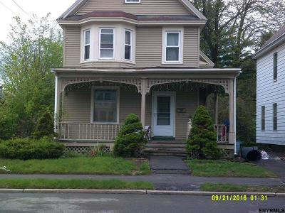 Schenectady Single Family Home For Sale: 434 Fifth St