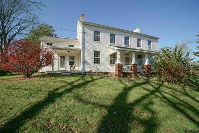 Saratoga County Single Family Home For Sale: 178 Vischer Ferry Rd