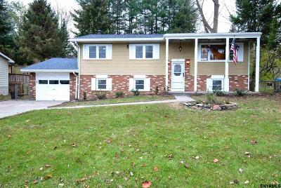 Colonie Single Family Home For Sale: 19 Wendell Dr