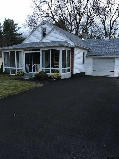 Colonie Single Family Home For Sale: 398 Consaul Rd