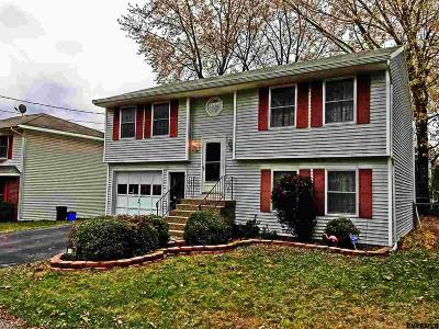 Schenectady Single Family Home For Sale: 109 Dewitt Av