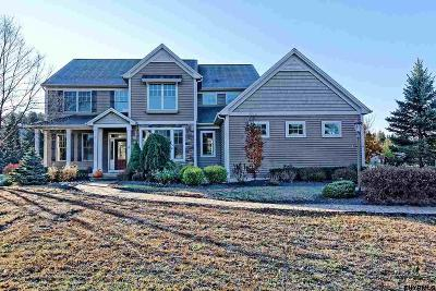 Saratoga County Single Family Home For Sale: 6 Hidden Farm La