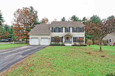 Saratoga Springs Single Family Home For Sale: 33 Whitney Rd South