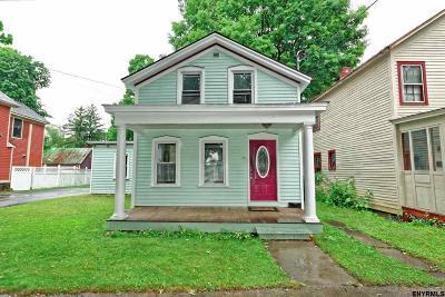 Saratoga Springs Single Family Home New: 85 Lincoln Av