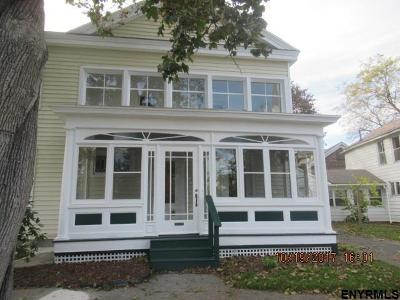 Schuylerville Single Family Home New: 10 Burgoyne St