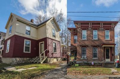 Gloversville Multi Family Home For Sale: 5 Wood St