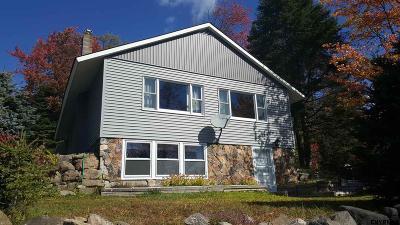 Single Family Home New: 479 Adirondack Lake Rd