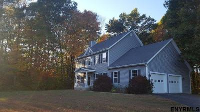 Saratoga County Single Family Home New: 325 Brownville Rd