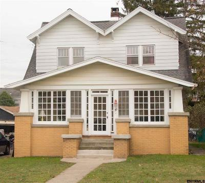 Single Family Home For Sale: 30 Tillinghast Av
