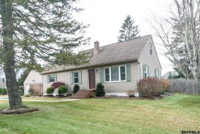 Single Family Home For Sale: 141 Wemple Rd