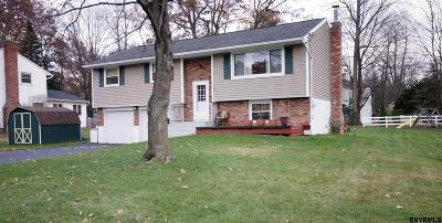 Clifton Park Single Family Home For Sale: 22 Weston Dr