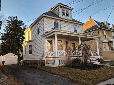 Schenectady County Single Family Home Back On Market: 1023 Regent St
