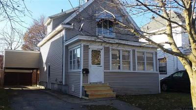 Gloversville, Johnstown Single Family Home For Sale: 13 Burlington Av