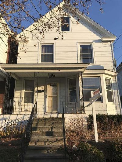 Schenectady Single Family Home For Sale: 1818 Avenue A
