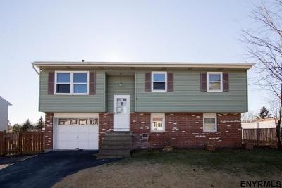 Colonie NY Single Family Home For Sale: $187,000