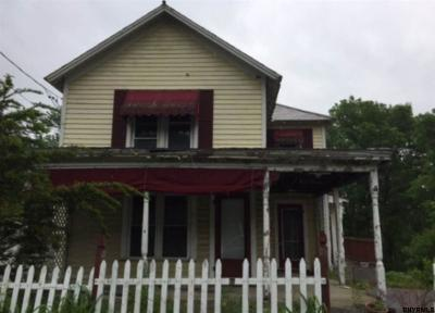 Saratoga County Single Family Home For Sale: 258 N Broad St