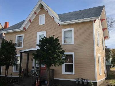 Troy Multi Family Home For Sale: 178 6th Av