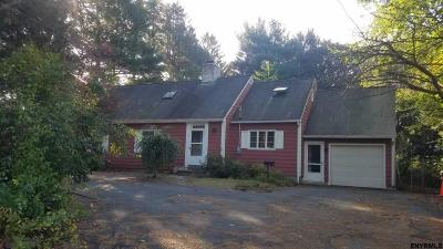 Single Family Home Back On Market: 550 Watervliet Shaker Rd