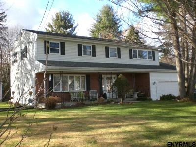 Clifton Park Single Family Home For Sale: 1 Easton Dr