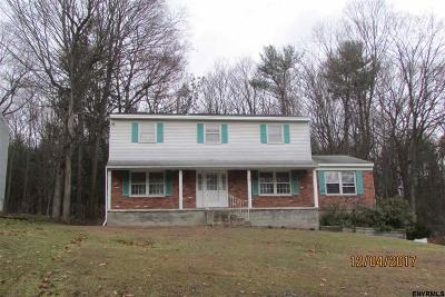 Glenville Single Family Home For Sale: 8 Pinewood Dr