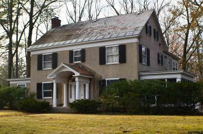 Schenectady Single Family Home For Sale: 1189 Lowell Rd