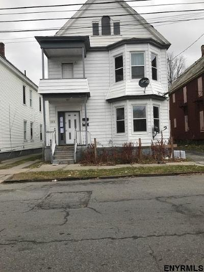 Schenectady Multi Family Home For Sale: 893 Emmet St