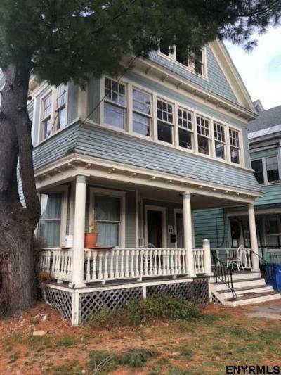 Albany Two Family Home For Sale: 201 Delaware Av