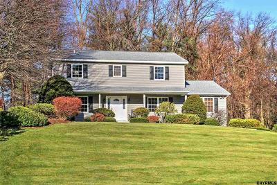 Clifton Park Single Family Home For Sale: 8 Via Da Vinci