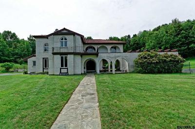 Rensselaer County Single Family Home For Sale: 370 Pinewoods Av
