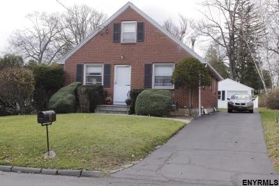 Troy Single Family Home New: 117 Euclid Av