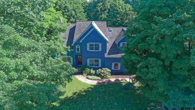Clifton Park Single Family Home Back On Market: 88 Robinwood Dr
