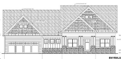 Saratoga County Single Family Home For Sale: Lot 1 Round Lake Rd