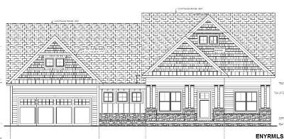 Ballston Single Family Home New: Lot 1 Round Lake Rd
