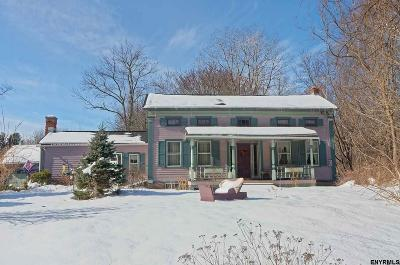 Schenectady County Single Family Home For Sale: 77 Charlton Rd