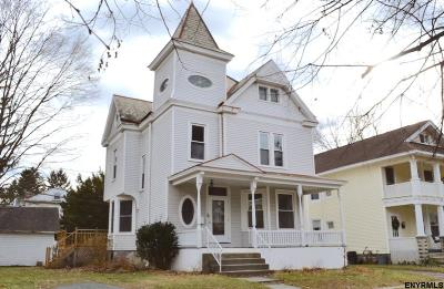 Troy Single Family Home New: 1 Terrace Pl