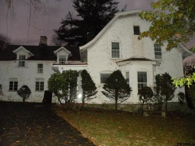 Rensselaer County Single Family Home For Sale: 99 State Route 9j