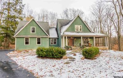 Saratoga County Single Family Home For Sale: 12 Ruggles Rd