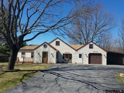 Schenectady County Single Family Home For Sale: 5746 Schoharie Turnpike