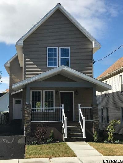 Troy Single Family Home For Sale: 30 Central Av